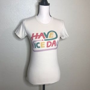 American Apparel | Have a Nice Day Tee